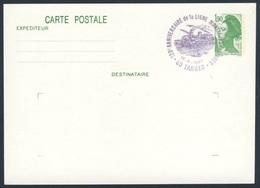 France Rep. Française 1987 Card / Karte / Carte - 120e Ann. Ligne Montrejeau - Tarbes / Railway / Eisenbahn - Treinen