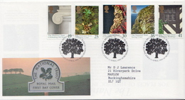 Great Britain Set On Used FDC - Environment & Climate Protection