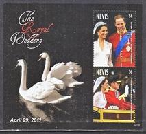 NEVIS 1673   **  ROYAL  WEDDING  PRINCE  WILLIAM - Royalties, Royals