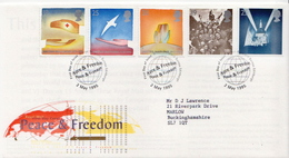 Great Britain Set On Used FDC - French Revolution