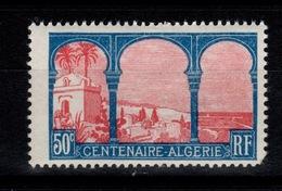 YV 263 Algerie N** Un Angle Un Peu Court - France