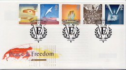 Great Britain Set On FDC - French Revolution