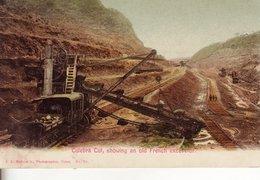L 005 Canal De Panama, Old Frech Excavator - Panama