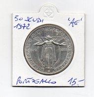 Portogallo - 1972 - 50 Escudos - Argento - (MW1878) - Portogallo