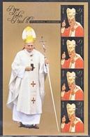 NEVIS 1631-32,   2 Scans  **   POPE  JOHN  PAUL  II - Popes