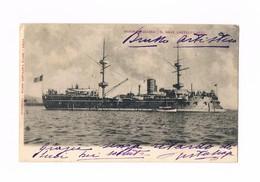 Cartolina - Postcard - Viaggiata/Sent - Regia Marina Italiana - Regia Nave Castelfidardo - Reggimenti
