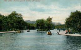 YORKS - BRADFORD - MANNINGHAM PARK - THE LAKE  Y2716 - Bradford