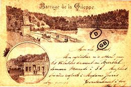 BARRAGE DE LA GILEPPE - Superbe Carte Envoyée Le 9-10-1894 - Limbourg