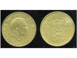 DANEMARK 1 Krone 1948 - Denmark