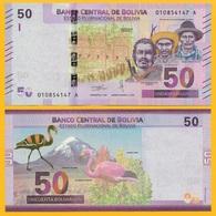 Bolivia 50 Bolivianos P-new 2018 UNC - Bolivie
