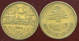 LIBAN 5 Piastres 1955 - Liban