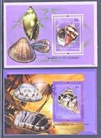 NEVIS 1689-90   **   SEASHELL  Of  The  CARIBBEAN - Coneshells