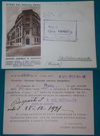 Cartolina Opere Del Regime - Roma. 1937. - Roma