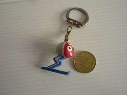 PORTE CLEFS Jeux Olympique 1968 Grenoble - Schlüsselanhänger