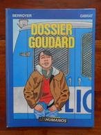 Dossier Goudard Par GIBRAT - Livres, BD, Revues