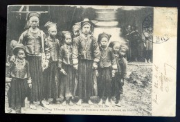 Cpa Du Viet Nam Tonkin -- Muong Khuong - Groupe De Femmes Nouns Venant Au Marché JAN16 5 - Viêt-Nam