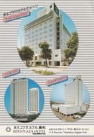 Takamatsu Japan, Keio Plaza Hotel, Tokyo And Sapporo Locations, Lodging, C1990s Vintage Postcard - Andere