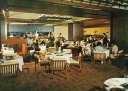 Tokyo Japan, Hilton Hote, Interior View Keyaki Grill Restaurant, C1960s/70s Vintage Postcard - Tokio