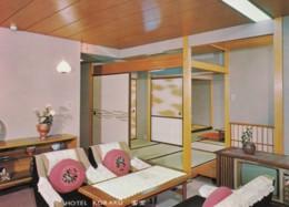 Oita (Beppu) Japan, Hotel Koraku Room Interior View, C1970s Vintage Postcard - Other