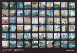 Japan, Tokyu Hotels Various Locations, C1980s Vintage Postcard - Other