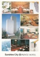 Tokyo Japan, Sunshine City Prince Hotel, Interior Views, Architecture, C1980s Vintage Postcard - Tokio