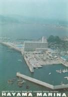 Kanagawa Japan, Hayama Marina Facilities Boats Docks, C1970s/80s Vintage Postcard - Other