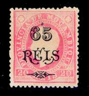 ! ! Mozambique - 1903 King Luis OVP 65 R - Af. 68 - No Gum - Mozambique