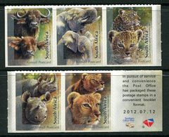 South Africa 2012 Wildlife - The Big Five - Self-adhesive Set MNH (SG 1970-1974) - South Africa (1961-...)