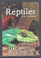 NEVIS 1703   **   REPTILES  Of The  CARIBBEAN   IGUANA, - Reptiles & Amphibians