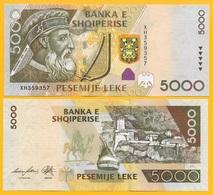 Albania 5000 Leke P-75b 2013 UNC Banknote - Albanie