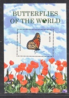 NEVIS 1661   **   BUTTERFLIES  Of The  WORLD - Vlinders