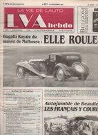 LVA Hebdo La Vie De L'auto N°621 Bugatti Royale Du Musée De Mulhouse - Panhard Allemano - Automobiles Bignan... - Auto/Moto