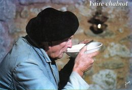Métiers Anciens - Traditions - Paysan - Faire Chabrot ( Chabrol)  Ed Yvon 7701 - Paysans