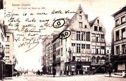 ANVERS Disparu - Le Canal Du Sucre En 1901 - Antwerpen