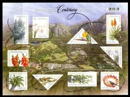 South Africa 2013 Centenary Of Kirstenbosch National Botanical Garden MS MNH (SG MS2016) - South Africa (1961-...)