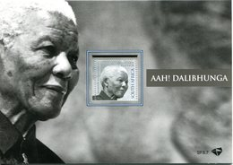 South Africa 2014 Nelson Mandela Commemoration MS In Folder MNH (SG Unlisted) - South Africa (1961-...)