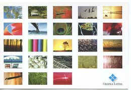 GRAFICA LATINA POSTAL CIRCA 2000 ARGENTINA TARJETA PUBLICIDAD MODERNA -LILHU - Reclame