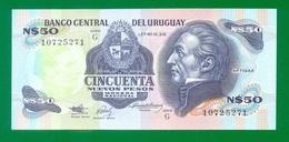 Uruguay 50 Nuevos Pesos (1989) P61A UNC - Malawi