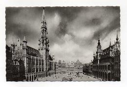 Belgio - Bruxelles - Piazza Grande - Viaggiata Nel 1958 - Bel Timbro A Targhetta - (FDC13105) - Piazze