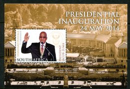 South Africa 2014 Presidential Inauguration Of Jacob Zuma MS MNH (SG Unlisted) - South Africa (1961-...)