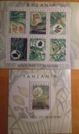 TANZANIA, 2018, MNH, PLANTS, SPICES OF ZANZIBAR, SLT+SS - Plants