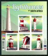 South Africa 2014 Lighthouses Of South Africa Sheetlet MNH (SG 2129-2133) - South Africa (1961-...)