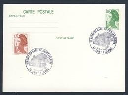 France Rep. Française 1987 Card / Karte / Carte - 150 Ann. Ligne Paris - Saint-Germain / Railway / Eisenbahn - Treinen