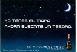 TIA MARIA ESTA NOCHE ES TU DIA CIRCUITO EN PALERMO SOHO 2005 ARGENTINA TARJETA PUBLICIDAD MODERNA -LILHU - Reclame