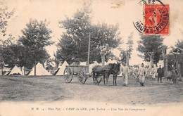 Camp De Ger (65) Près Tarbes - Une Vue Du Campement - France