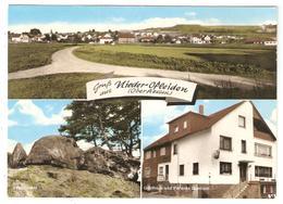 CPSM Gruss Aus NIEDER OFLEIDEN OBERHESSEN Gasthaus Und Pension Guntrum - Homberg