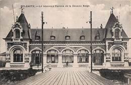 Zelzate Selzaete - Le Nouveau Bureau De La Douane Belge (animée, Phototypie Préaux, Edit. De Graeve Et De Rechter) - Zelzate