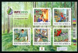 South Africa 2015 14th World Forestry Conference Sheetlet MNH (SG Unlisted) - South Africa (1961-...)