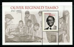South Africa 2015 Oliver Reginald Tambo MS MNH (SG Unlisted) - South Africa (1961-...)