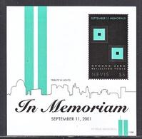 NEVIS 1694    **   9-11-MEMORIAL,    IN  MEMORIAM - Us Independence